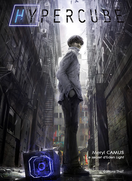 Couverture du livre Hypercube, tome 1 : Le secret d'Eden Light
